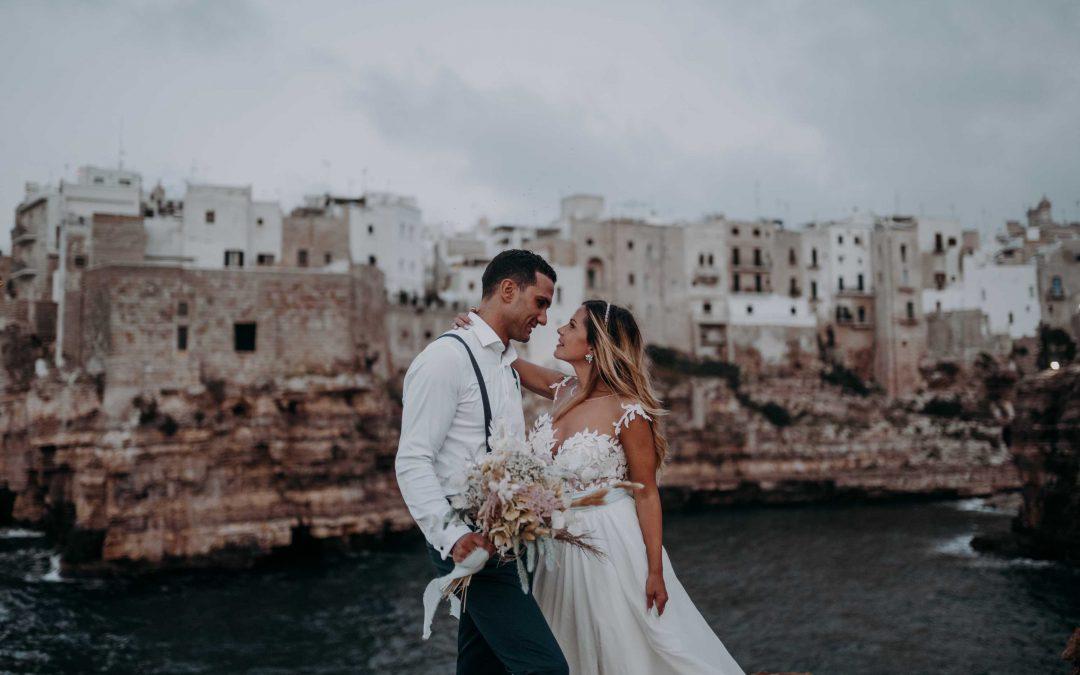 Dreamy Apulian Wedding in Polignano a Mare